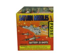 25 Saturn Missles